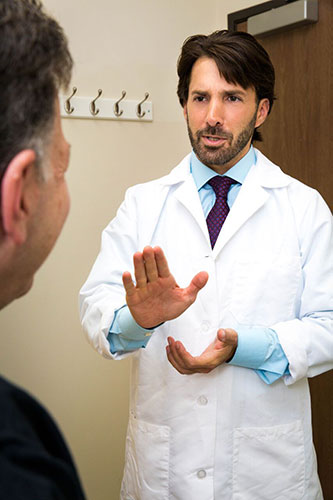 Rabbi Gaines patient consult